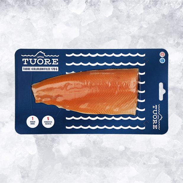 Kala kulkee jäätävän ketjun ruokapöytään